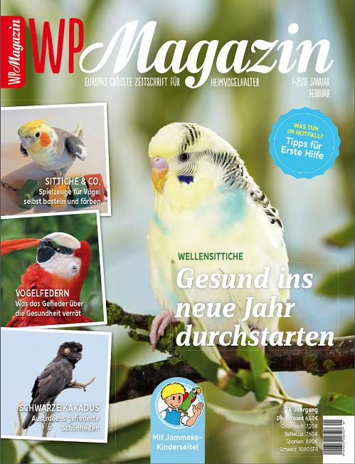 wp magazin 1 2018 zeitschriften. Black Bedroom Furniture Sets. Home Design Ideas